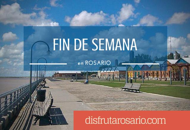 Fin de semana en Rosario