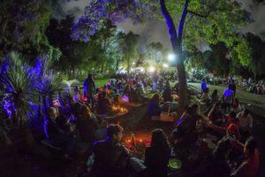 Picnic nocturno en Rosario