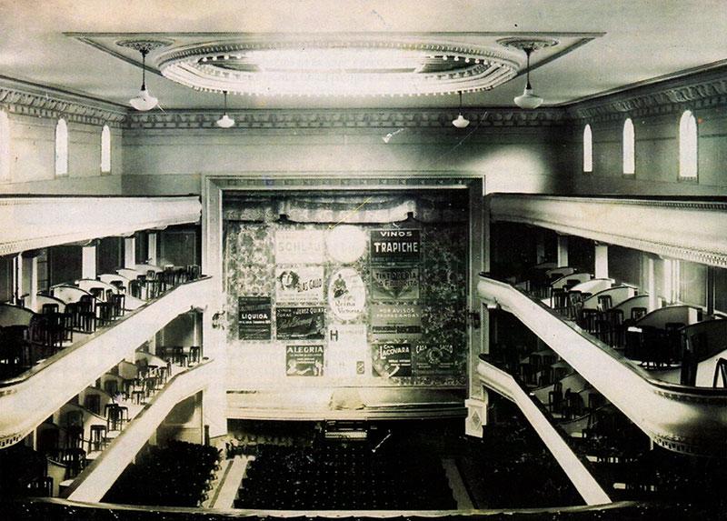 Historia del teatro La Comedia Rosario