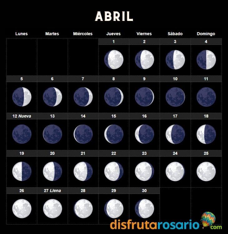 Calendario Abril 2021 Disfrutarosario Com